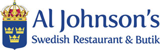 Al Johnson's Swedish Restaurant, Butik & Stabbur Logo