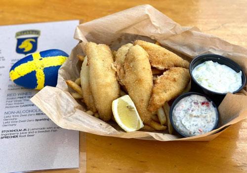 Al Johnson's Swedish Restaurant Stabbur Menu